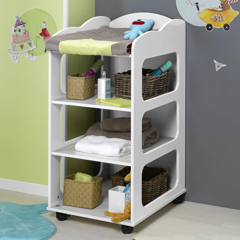table a langer blanc luciblcm04. Black Bedroom Furniture Sets. Home Design Ideas