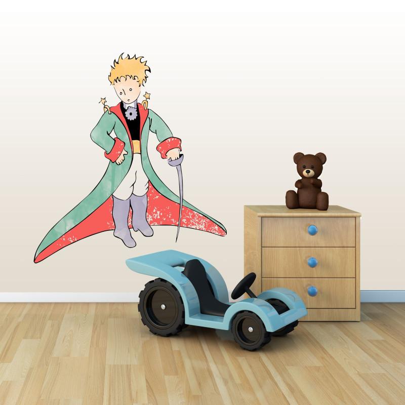 Petit prince aquarelle 32x30