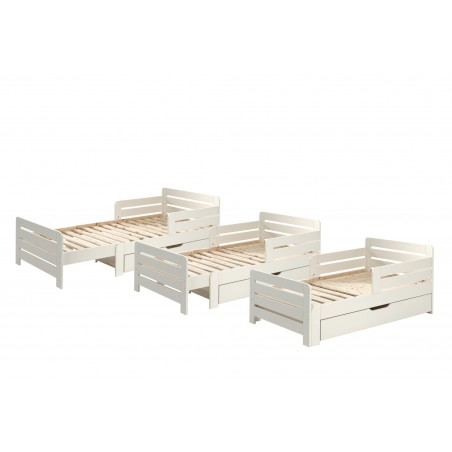 bed with storage drawer and mattress 2