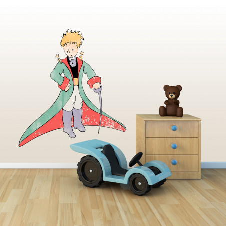 sticker mural pour chambre enfant le petit prince
