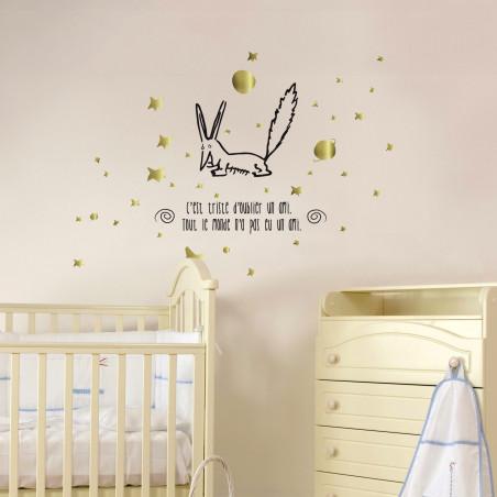 sticker mural le petit prince
