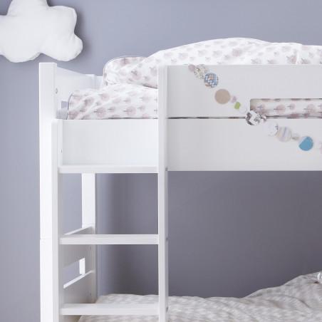 lit superposé et matelas pour chambre enfant