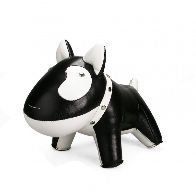Serre-livre chien noir