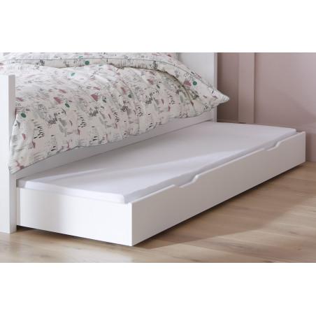 tiroir de lit lin pour lit 90x200