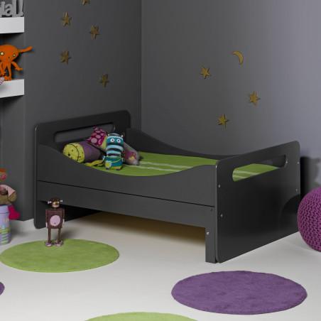 lit enfant évolutif avec matelas et tiroir de rangement