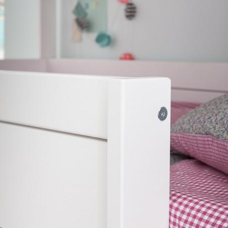 Pack avec lit superposé 3 places et 3 matelas confort
