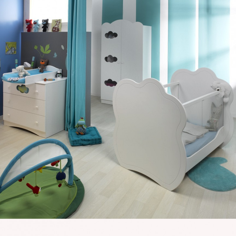 Chambre bébé complète blanc*