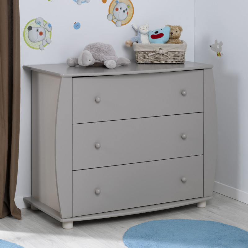 Commode bebe lin Violette