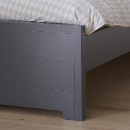 lit enfant 90x200 anthracite gris