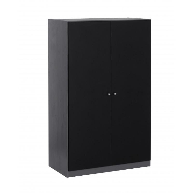 armoire 2 portes pour lit mi-hauteur