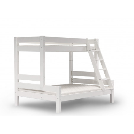 Lit superposé Lilja blanc 90/140x200