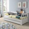tiroir de rangement pour lit enfant 90x200