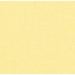 drap housse 100% coton jaune paille