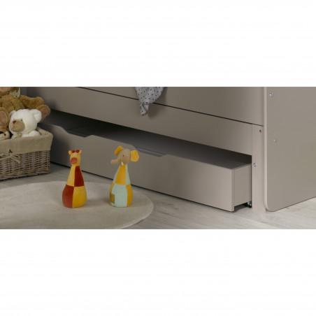 tiroir de rangement pour lit enfant lin
