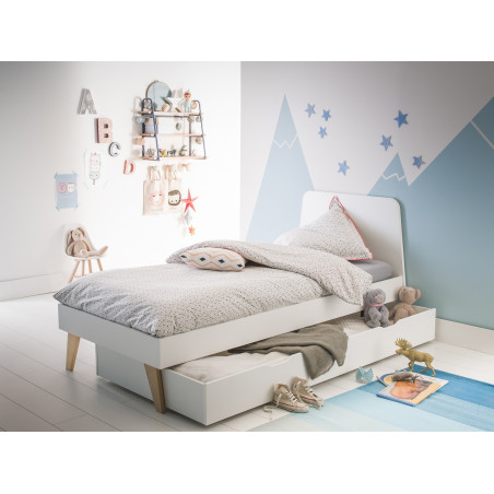 lit enfant blanc style scandinave