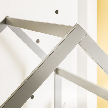 Lit montessori gris 90x140 Alfred et Compagnie
