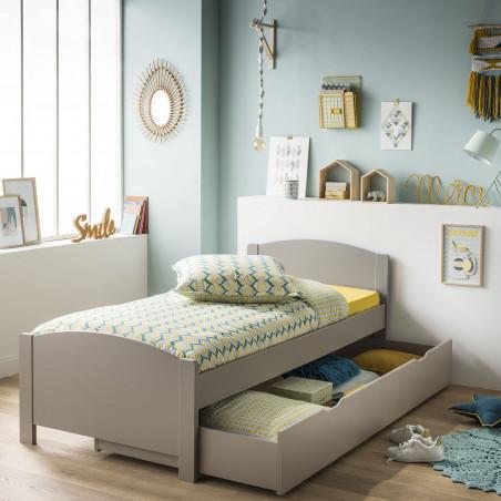 lit pin chambre enfant alfred et compagnie