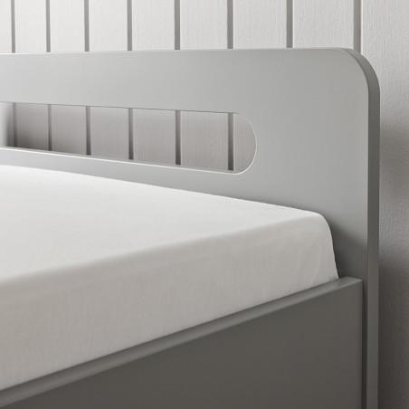 lit enfant 90x190 gris