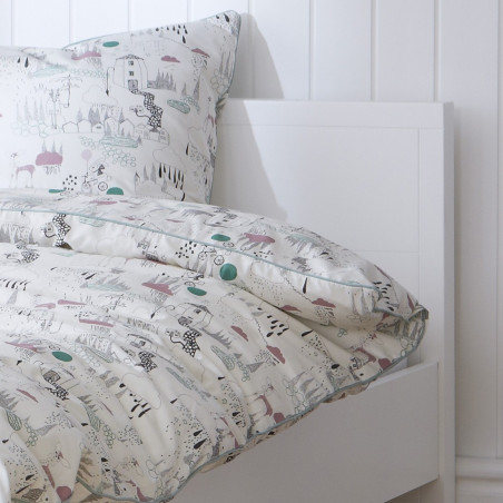 lit enfant blanc 90x190