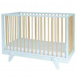 Lit bébé Petipeton 60x120 BLANC