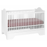 Lit bébé évolutif 70x140 Alice & Gauthier Blanc