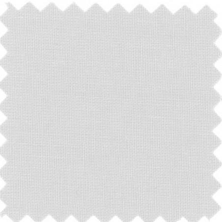 drap housse en coton blanc