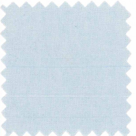 drap housse en coton bleu ciel
