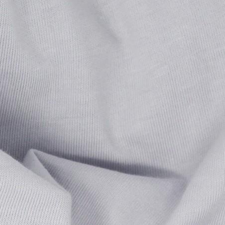 light grey organic cotton fitted sheet 90x190