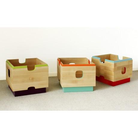 mobilier de rangement, caisses assorties