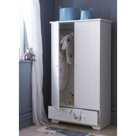 armoire enfant blanche