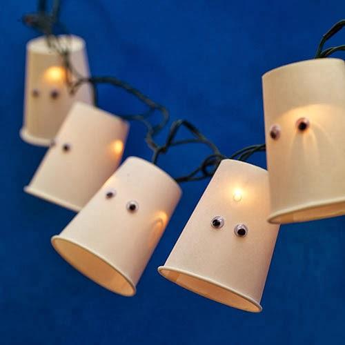 guirlande halloween DIY